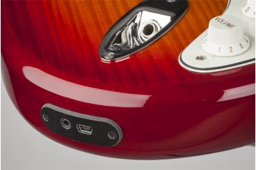 FENDER DELUXE STRAT HSS PLUS iOS AGED CHERRY BURST