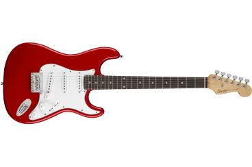 FENDER SQUIER MM STRATOCASTER HARD TAIL RED